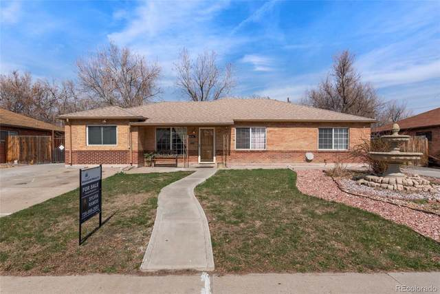814 Quentin Street, Aurora, CO 80011 (#9052268) :: The Dixon Group