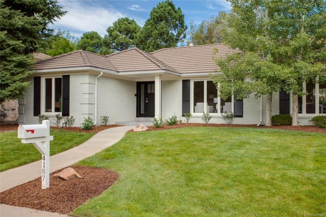4187 S Olive Street, Denver, CO 80237 (#9054600) :: The Galo Garrido Group