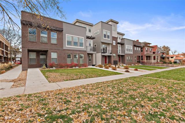 1737 Vine Street, Denver, CO 80206 (#9055196) :: The Heyl Group at Keller Williams