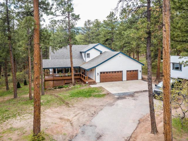 4410 Red Rock Drive, Larkspur, CO 80118 (#9060418) :: The Peak Properties Group