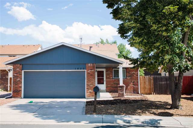 1630 Biscay Circle, Aurora, CO 80011 (#9062938) :: The Galo Garrido Group