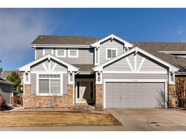 7495 W Saratoga Place, Littleton, CO 80123 (#9068992) :: The HomeSmiths Team - Keller Williams