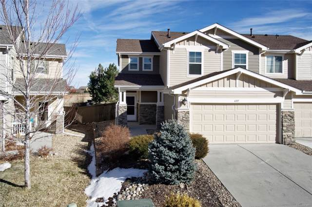 6337 Wescroft Avenue, Castle Rock, CO 80104 (MLS #9070742) :: 8z Real Estate