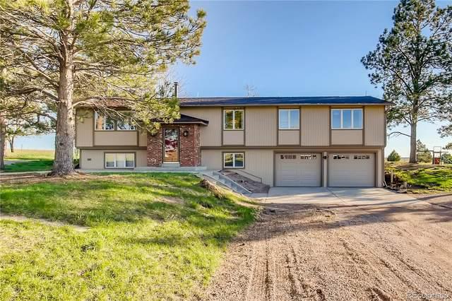 10740 County Road 126, Kiowa, CO 80117 (#9072399) :: The Gilbert Group