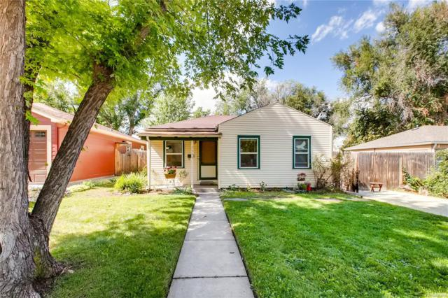 2555 S Vine Street, Denver, CO 80210 (#9072802) :: My Home Team