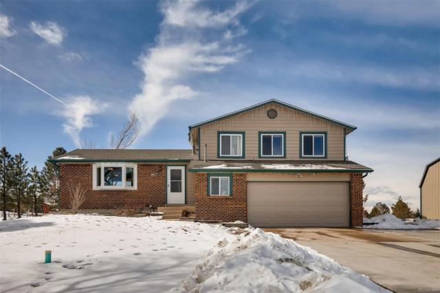 644 Ponderosa Lane, Elizabeth, CO 80107 (#9076601) :: Bring Home Denver