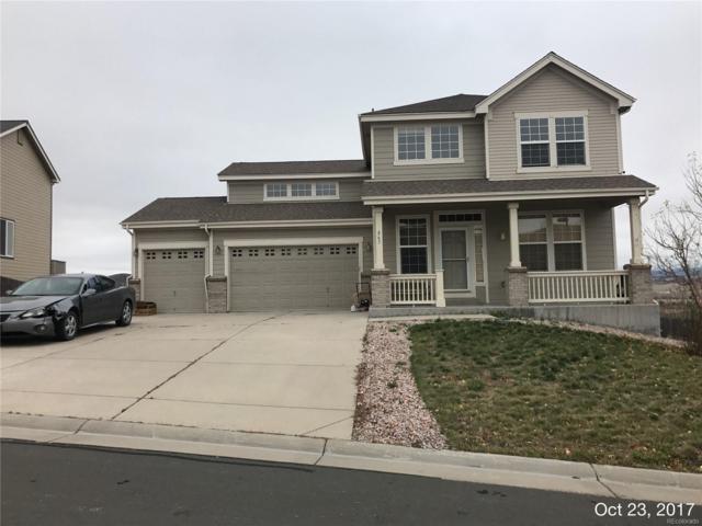 862 Eaglestone Drive, Castle Rock, CO 80104 (#9080586) :: The Peak Properties Group