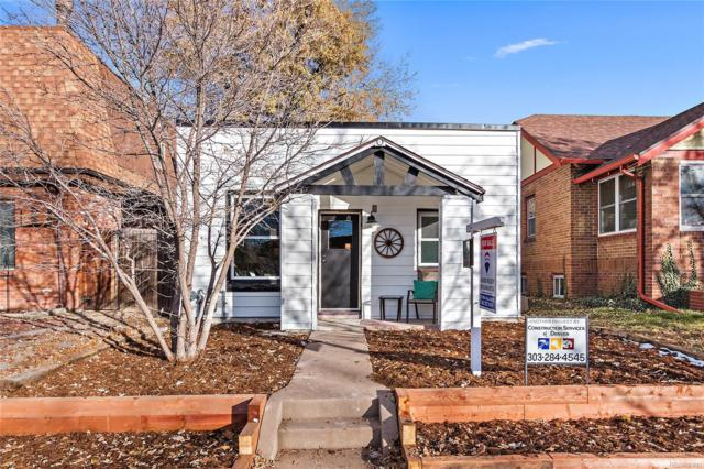 1452 S Logan Street, Denver, CO 80210 (#9085436) :: Sellstate Realty Pros