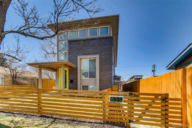 835 Forest Street, Denver, CO 80220 (#9089389) :: The Griffith Home Team