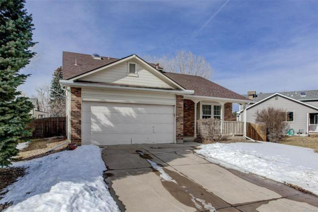6057 S Simms Court, Littleton, CO 80127 (#9093900) :: The Griffith Home Team