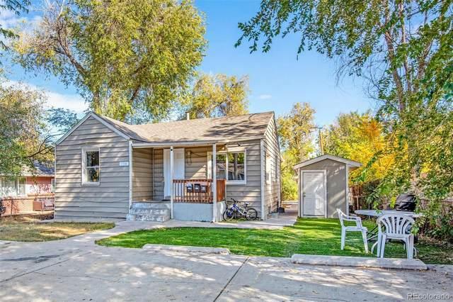 156 S Newton Street, Denver, CO 80219 (#9094145) :: James Crocker Team
