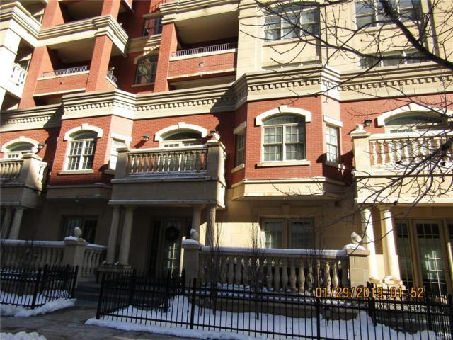 1950 N Logan Street #312, Denver, CO 80203 (#9096291) :: The Dixon Group