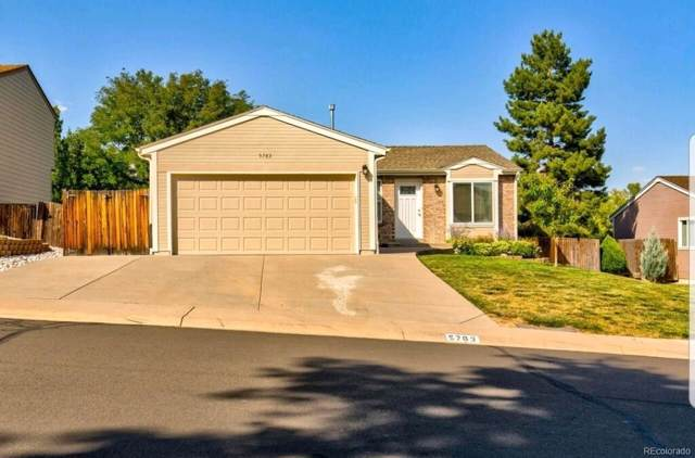 5763 W 75th Avenue, Arvada, CO 80003 (#9098157) :: The Griffith Home Team