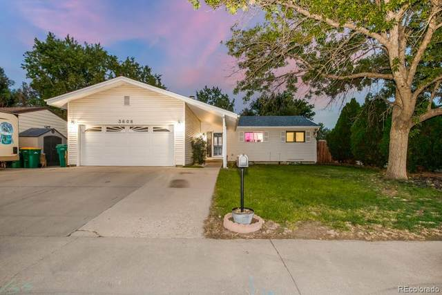 3608 Marigold Street, Evans, CO 80620 (#9100573) :: The Brokerage Group