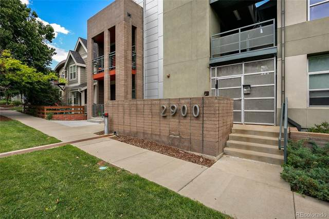 2900 Wyandot Street #303, Denver, CO 80211 (#9111752) :: Finch & Gable Real Estate Co.