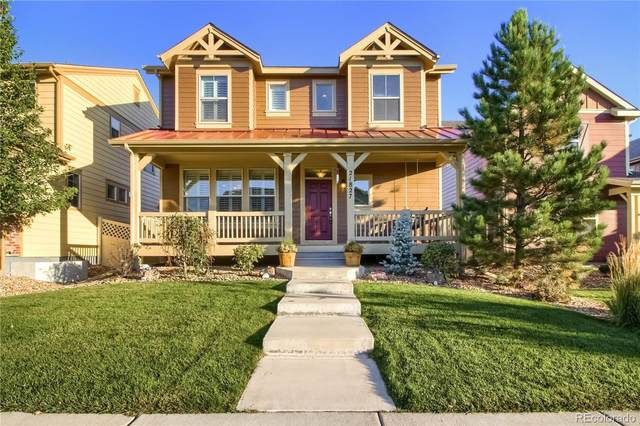 21827 E Tallkid Avenue, Parker, CO 80138 (MLS #9114782) :: 8z Real Estate