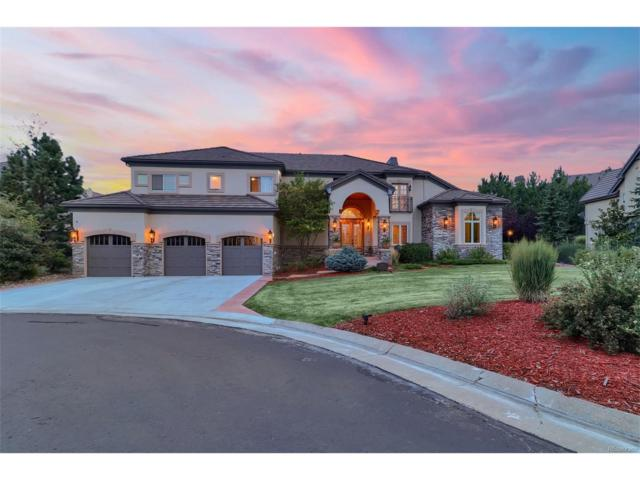 5780 Amber Ridge Place, Castle Pines, CO 80108 (#9115569) :: The Thayer Group