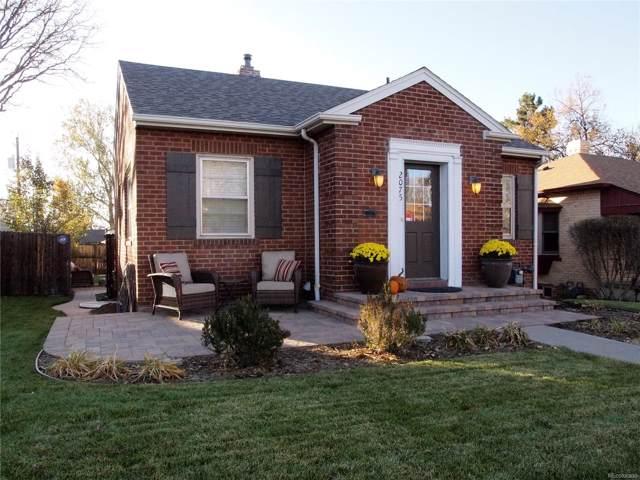 2075 S Washington Street, Denver, CO 80210 (#9115637) :: Wisdom Real Estate
