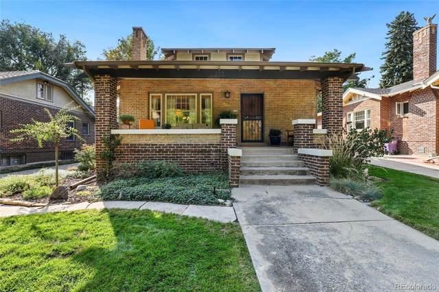 833 Fillmore Street, Denver, CO 80206 (#9120991) :: James Crocker Team