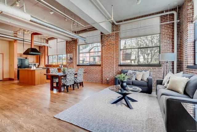 1515 N Ogden Street #1, Denver, CO 80218 (#9126273) :: The Peak Properties Group