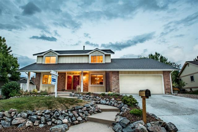 7562 S Newport Court, Centennial, CO 80112 (#9127172) :: The Peak Properties Group