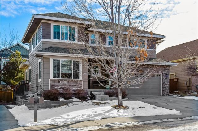 4318 Millwagon Trail, Castle Rock, CO 80109 (#9127765) :: The Peak Properties Group