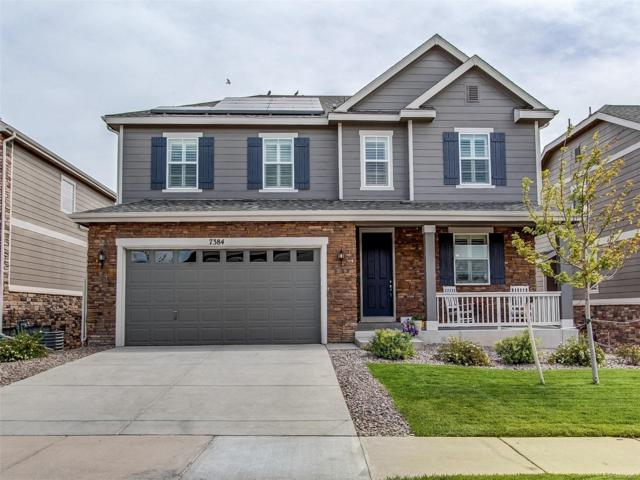 7384 S Oak Hill Court, Aurora, CO 80016 (#9128822) :: The Galo Garrido Group