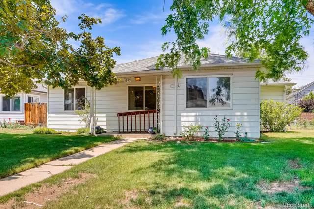 1743 W Tennessee Avenue, Denver, CO 80223 (MLS #9130118) :: 8z Real Estate