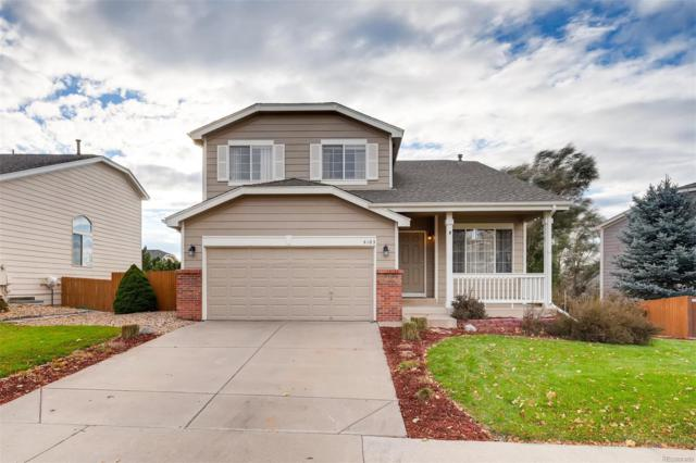 4103 Stampede Drive, Castle Rock, CO 80104 (#9134526) :: The Dixon Group