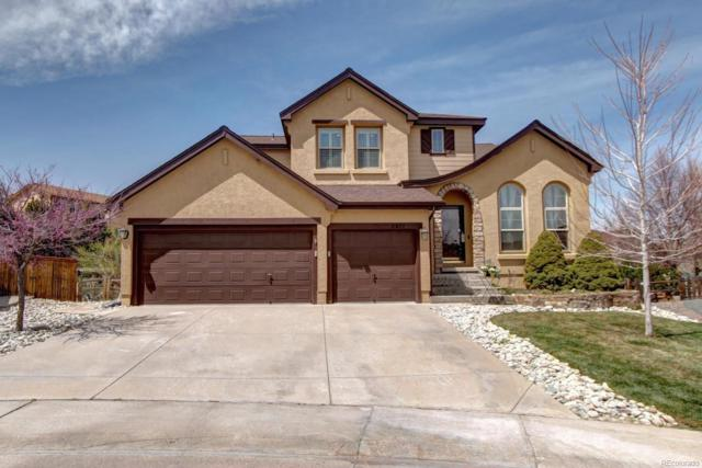 2877 Canyon Crest Place, Highlands Ranch, CO 80126 (#9136813) :: The Pete Cook Home Group