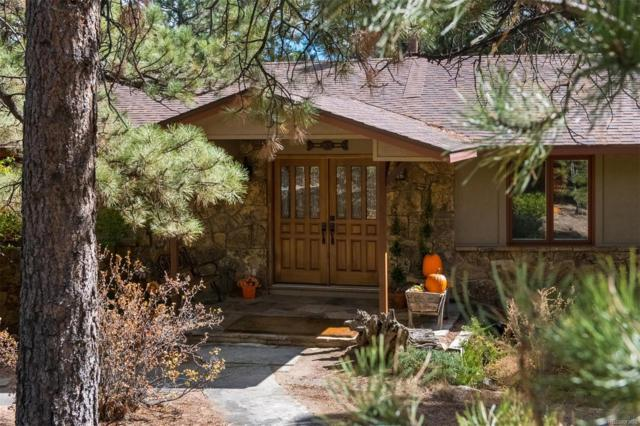2907 Hiwan Drive, Evergreen, CO 80439 (#9139836) :: The City and Mountains Group