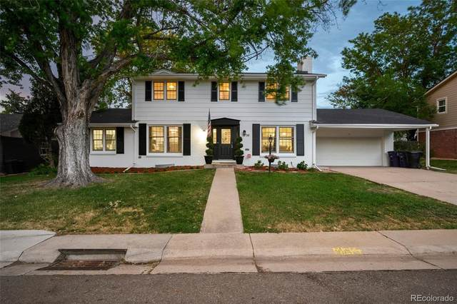 3730 S Hillcrest Drive, Denver, CO 80237 (#9140974) :: The Brokerage Group