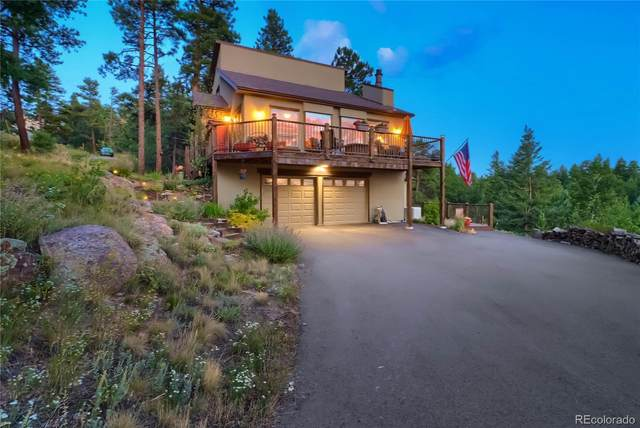 25100 Sunset Lane, Evergreen, CO 80439 (MLS #9147308) :: Clare Day with Keller Williams Advantage Realty LLC