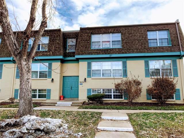 9430 E Girard Avenue #5, Denver, CO 80231 (MLS #9152231) :: Keller Williams Realty