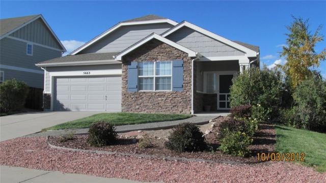 5663 E Monument Drive, Castle Rock, CO 80104 (#9158548) :: Bring Home Denver