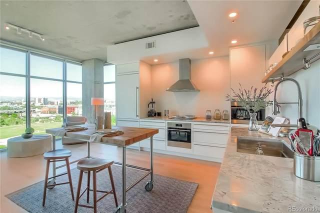 1700 Bassett Street #908, Denver, CO 80202 (#9160235) :: West + Main Homes