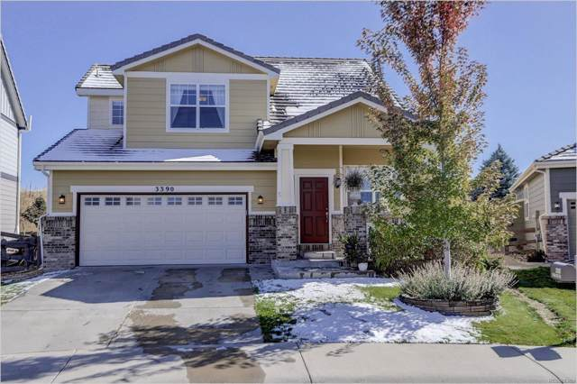 3390 Prairie Vista Drive, Castle Rock, CO 80109 (#9163877) :: Mile High Luxury Real Estate