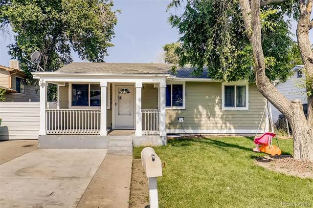 7741 Pontiac Street, Commerce City, CO 80022 (#9169504) :: Re/Max Structure