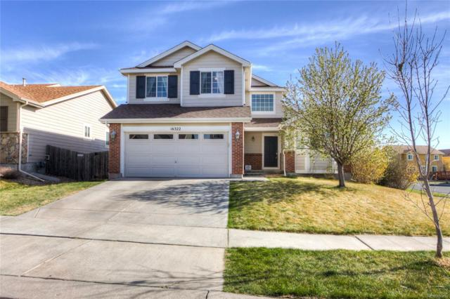 16322 E 107th Avenue, Commerce City, CO 80022 (#9171534) :: The Pete Cook Home Group