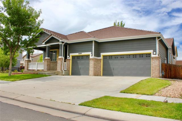 16405 E 99th Avenue, Commerce City, CO 80022 (#9180099) :: The Heyl Group at Keller Williams