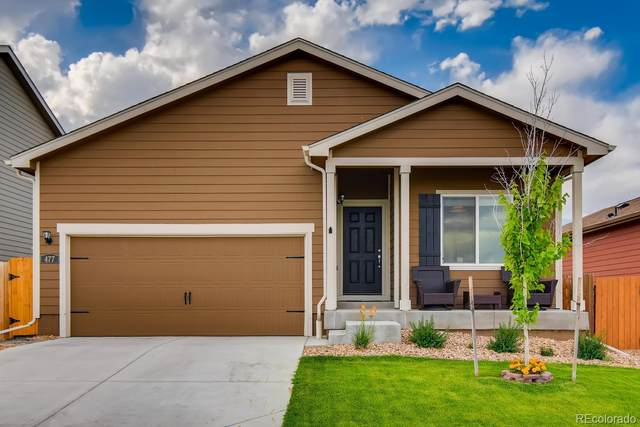 477 Park Boulevard, Lochbuie, CO 80603 (MLS #9187442) :: Bliss Realty Group