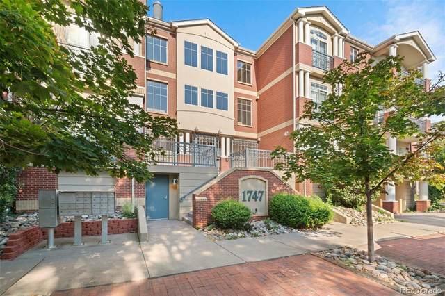 1747 Washington Street C206, Denver, CO 80203 (#9200235) :: My Home Team