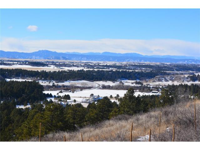 452 Nob Hill Trail, Franktown, CO 80116 (#9200354) :: The Peak Properties Group