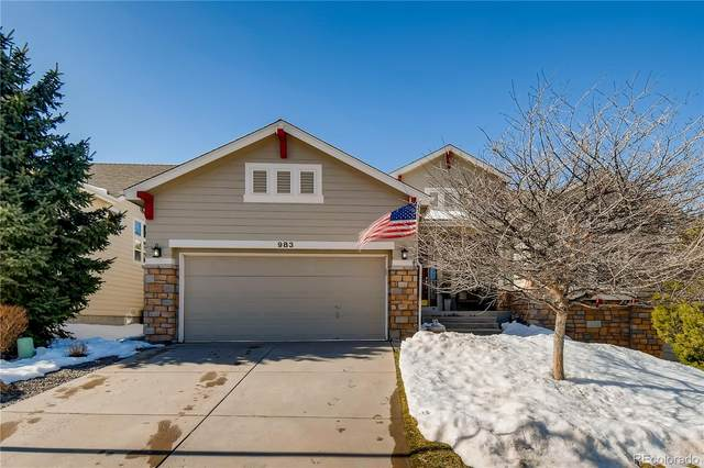 983 Bramblewood Drive, Castle Pines, CO 80108 (#9200953) :: The DeGrood Team