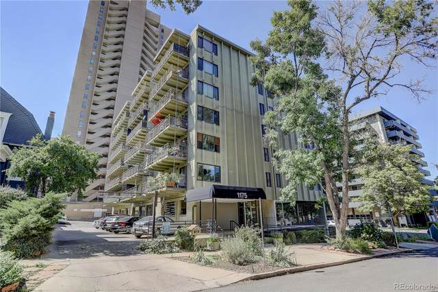 1175 Vine Street #407, Denver, CO 80206 (MLS #9206248) :: Wheelhouse Realty
