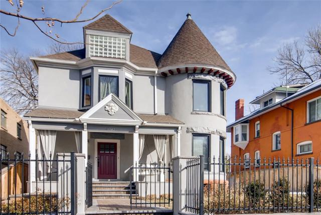 1342 Columbine Street, Denver, CO 80206 (#9208916) :: Colorado Home Finder Realty