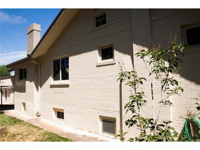 1445 S Logan Street, Denver, CO 80210 (MLS #9209822) :: 8z Real Estate