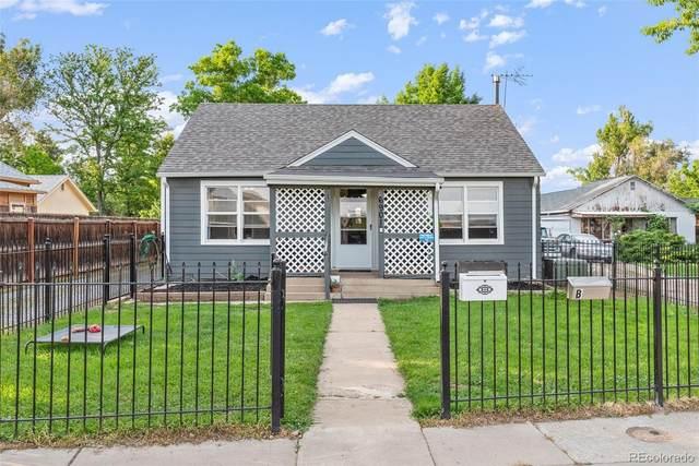 6901 Grandview Avenue A/B, Arvada, CO 80002 (#9211846) :: iHomes Colorado