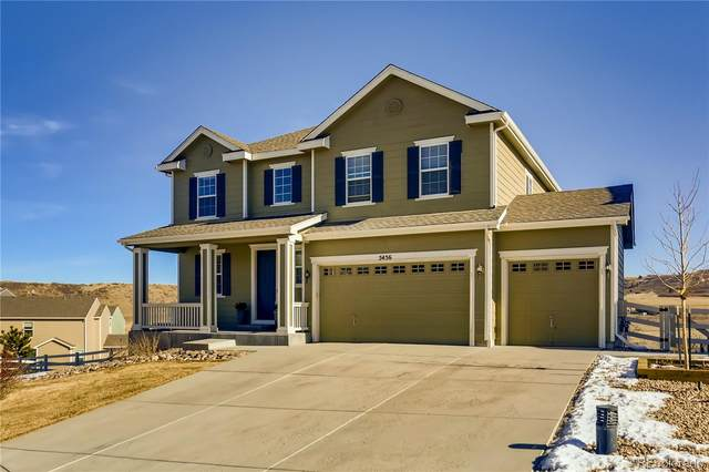5456 Spring Ridge Trail, Castle Rock, CO 80104 (#9214553) :: The Dixon Group
