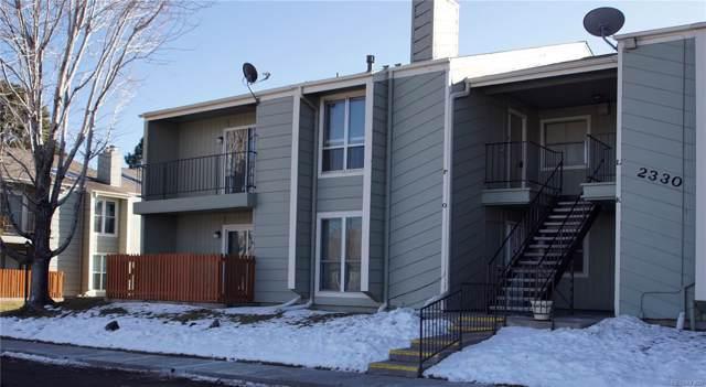 2330 E Fremont Avenue P19, Centennial, CO 80122 (MLS #9216216) :: 8z Real Estate